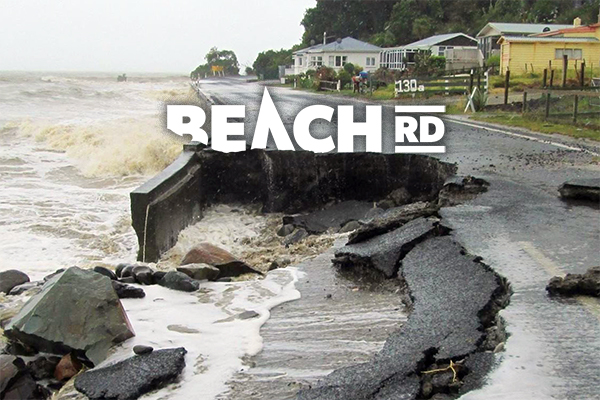 The rising sea and the reshaping of New Zealand