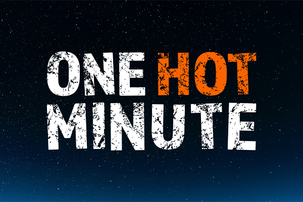 One hot minute podcast