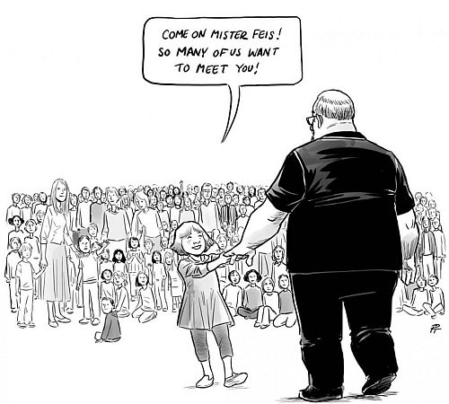 A Cartoon About Mass School Shootings In US Is Breaking