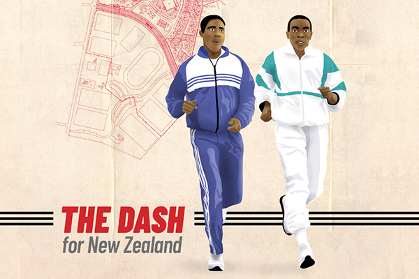 The Dash for New Zealand